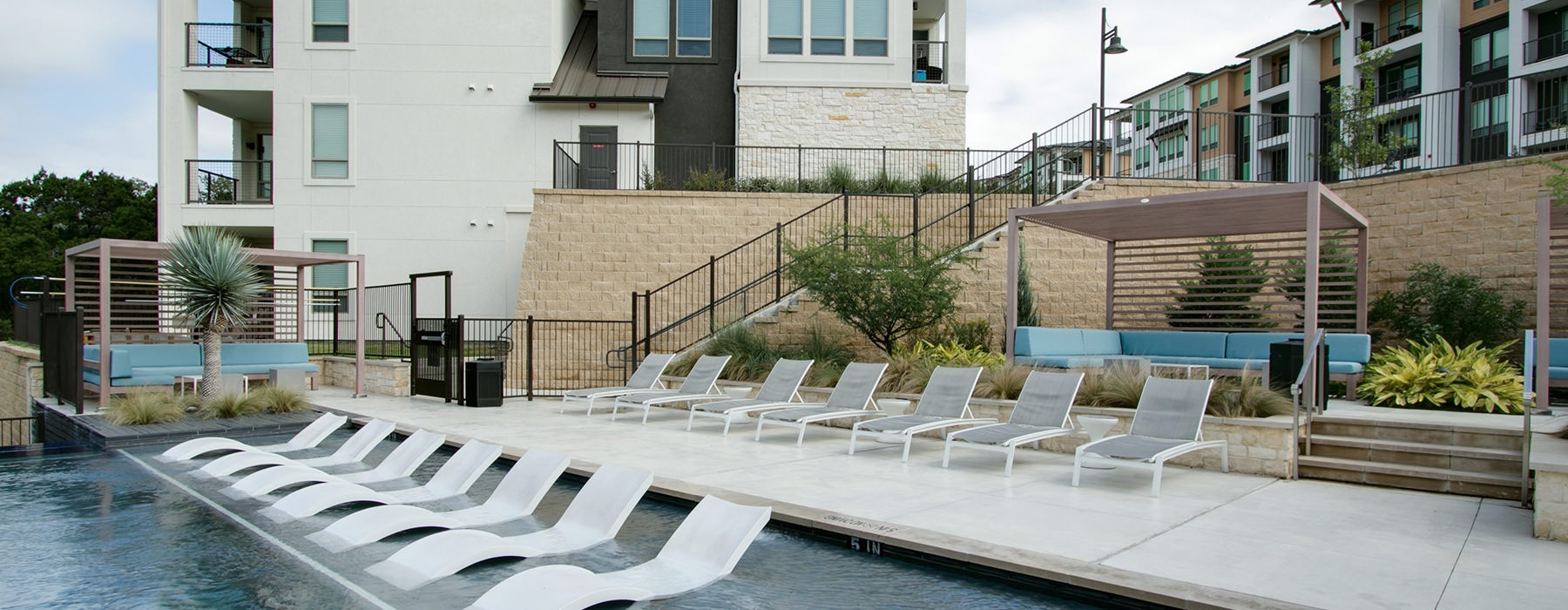 sun deck with ample chairs